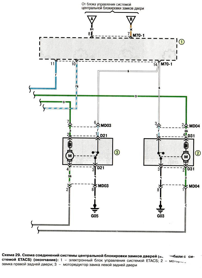 двигатель хендай акцент зажигание схема
